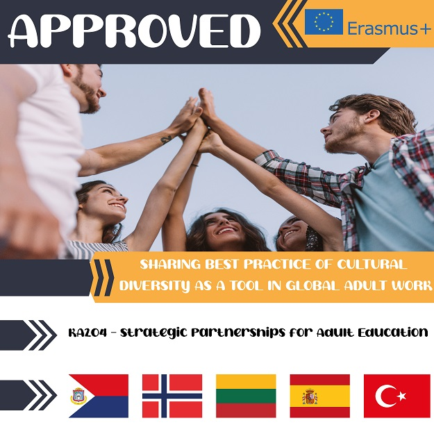 Approved Ka204 Strategic Partnerships for Adult Education